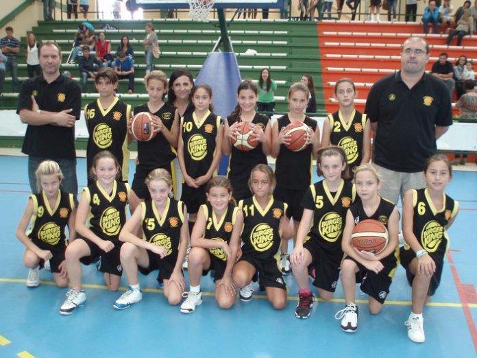 equipos de baloncesto femenino: